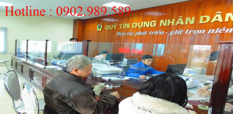 dịch vụ thực hiện thủ tục thành lập quỹ tín dụng nhân dân xã