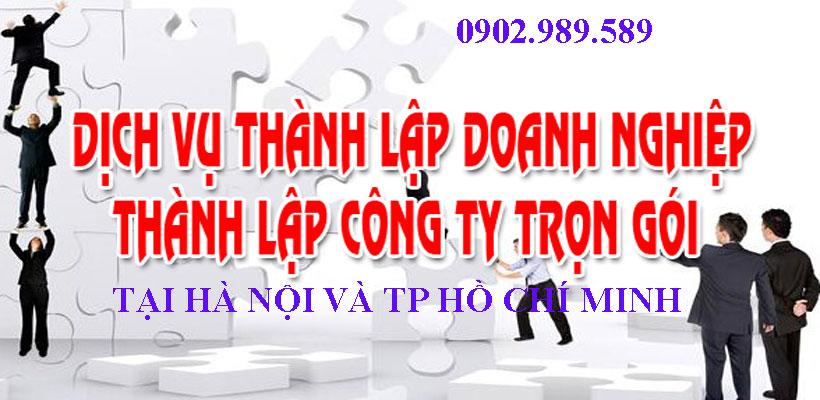 cung cấp dịch vụ thành lập doanh nghiệp chuyên nghiệp